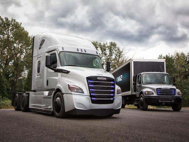 Freightlinerの新しい電気トラックはおそらくテスラ・キラーズではない