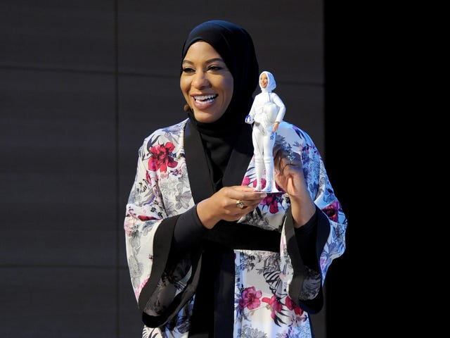 Barbie Shero Doll, Inspired by Olympian Ibtihaj Muhammad, Becomes 1st Barbie to Wear a Hijab