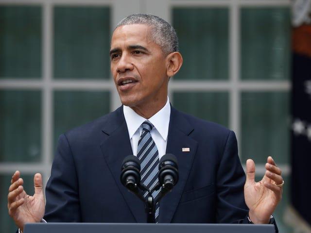 """奥巴马对克林顿选民说:""""我们在我们的同胞们中推行诚信的推定"""""""