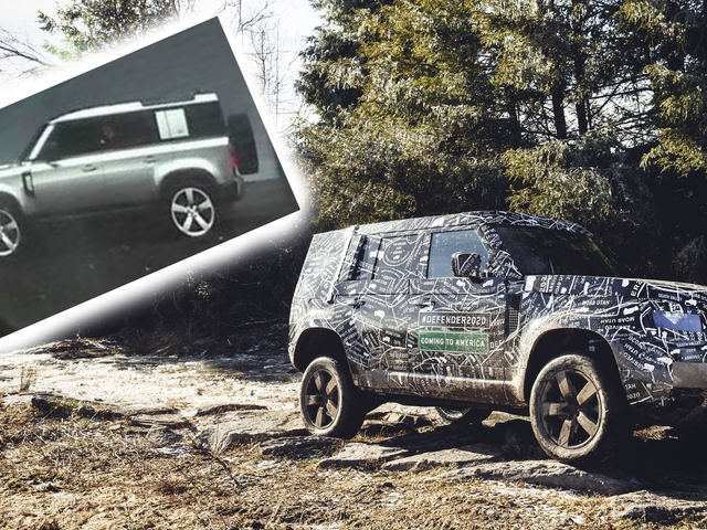 Here's the 2020 Land Rover Defender as Seen By Its Own Infotainment Display