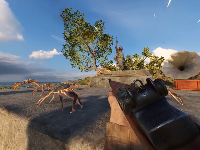 Battlefield V Easter Egg Summons Raveous Crab Rave