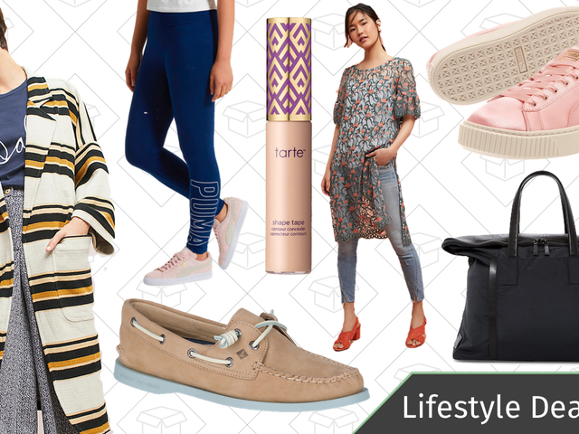 Today's Best Lifestyle Deals: Sperry, TUMI, Anthropologie, PUMA, and More