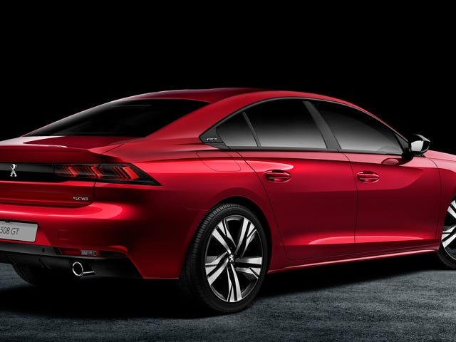 The 2018 Peugeot 508 Makes Me Feel Things