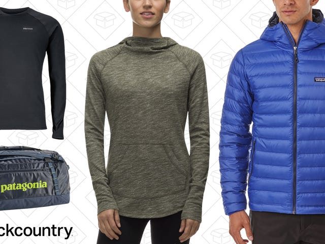 Backcountry is Taking Up to 30% Off Marmot, Patagonia, and More