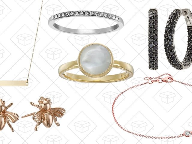 Amazon Is Going For the Gold (and Silver) With This One-Day Jewelry Sale