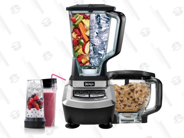 Save $50 On Ninja's Supra Blender and Food Processor, Complete With a Bunch of Bowls