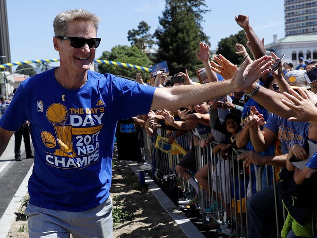 "Steve Kerr: Warriors To Discuss Attending White House If Invited, Will Consider Going ""Out Of Respect For The Office"""