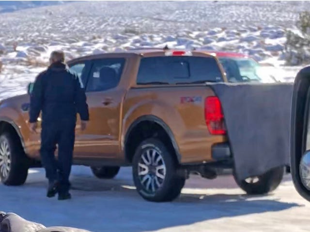 Looks Like The New Ford Ranger Is Already Off-Roading In Moab