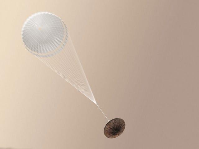 ExoMars Landing của ngày hôm qua đã không được lên kế hoạch