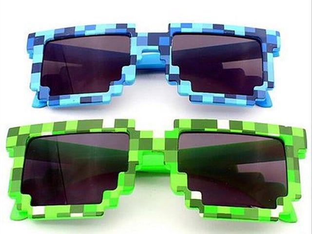 Lunettes de soleil femmes-hommes Pixel $ 0.00