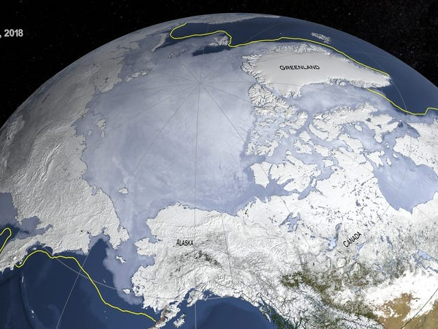 Both Poles Are Having a Weird, Bad Year For Sea Ice So Far