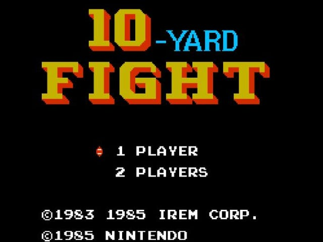 As the Quarantine Goes on, So Does Our Retro Video Game Review. Next up? NES 10-Yard Fight