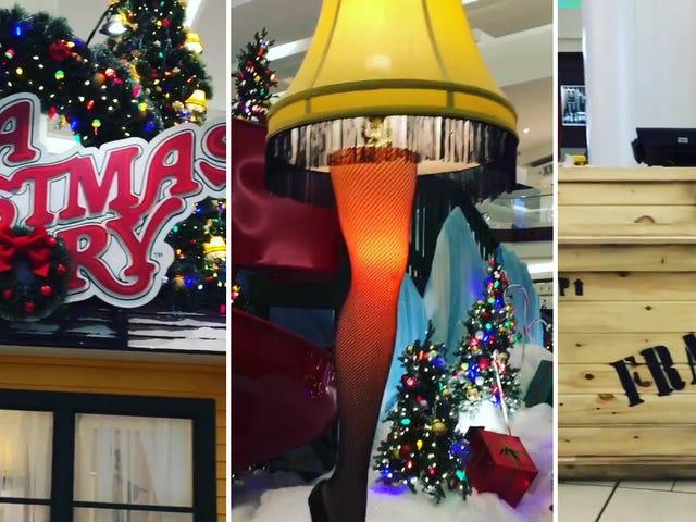 New Jersey Mall rakensi hämmästyttävän <i>A Christmas Story</i> näyttelyn Santa-valokuville