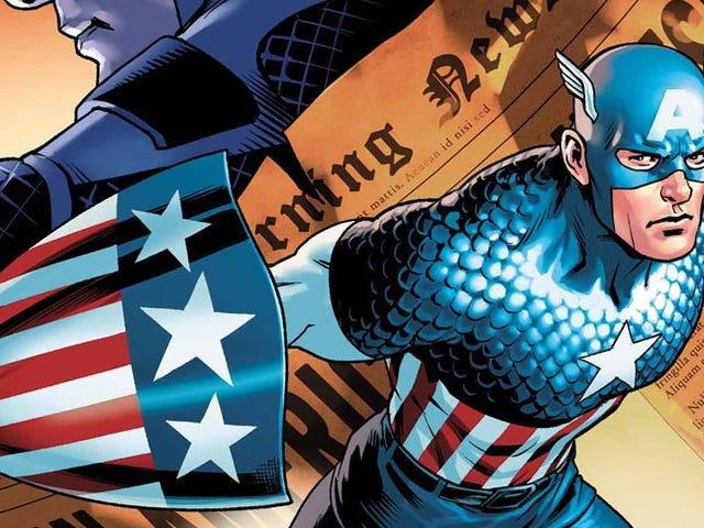 One Jew's Opinion on the Ending of Captain America: Steve Rogers #1