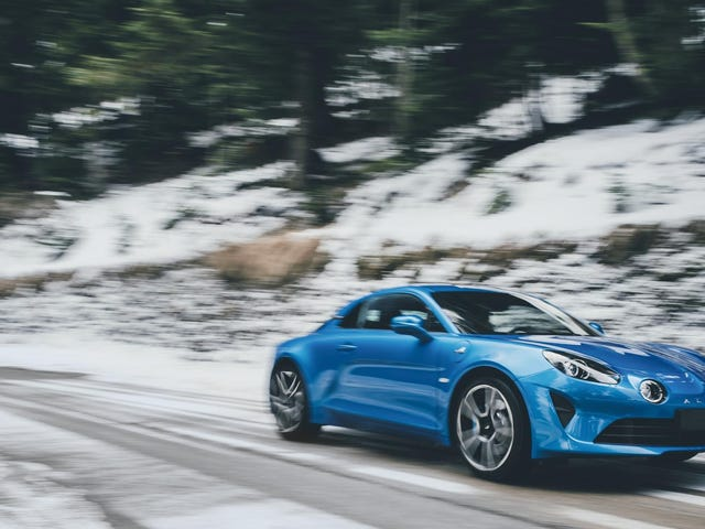 Renault Wants To Build 6,000 Glorious New Alpine A110s A Year