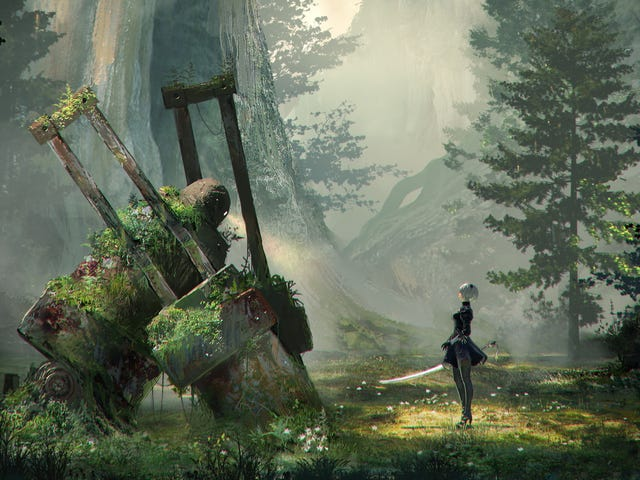 With one final death, Nier: Automata's ending redefines the meaning of life
