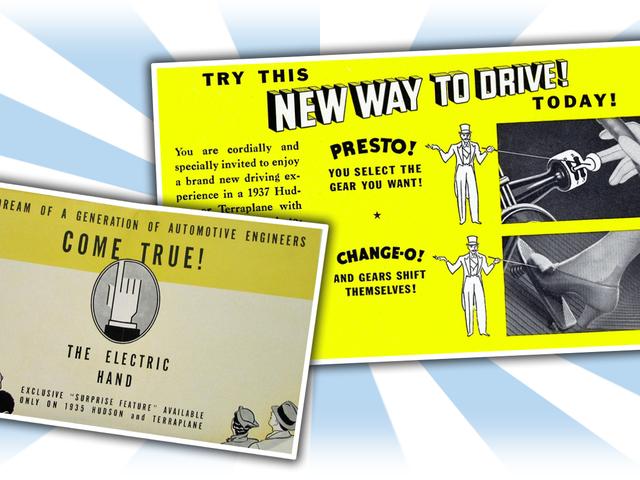最初の自動トランスミッションの1つは、不気味な名前を持っていたし、ゴーストシフトを見たようだった