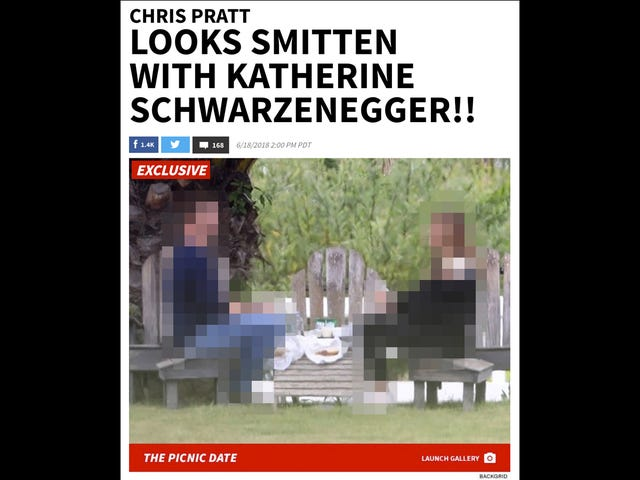 Chris Pratt Is Dating a Schwarzenegger, and TMZ Has Exactly 46 Photos of Them Together to Prove It