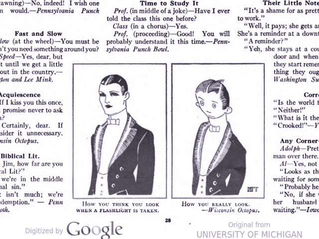 Turns Out They Invented That 'How You Think You Look Vs. How You Really Look' Meme Back in 1921