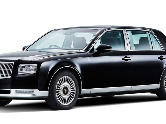 The New Toyota Century Rightly Costs As Much As Two Lexuses