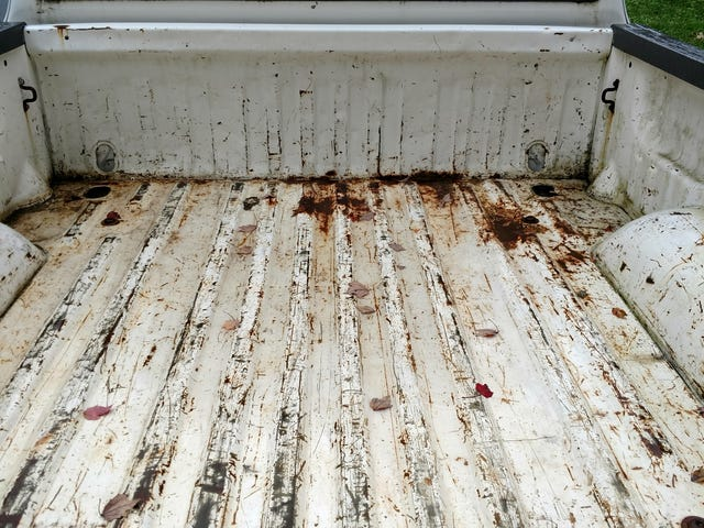 Truck bed rust and refinishing questions