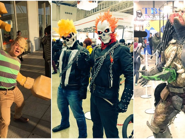 The Best Cosplay Of The Tokyo Comic Con