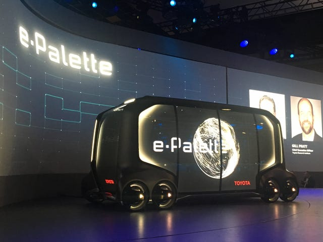 Toyota's E-Palette Mobile Space Brings The Bodega To You