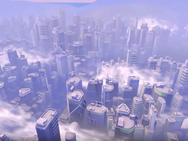 What Overwatch's Maps Look Like From The Outside