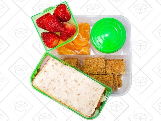 Spakuj swój lunch w tym pudełku Bento Box wielokrotnego użytku o wartości 12 USD