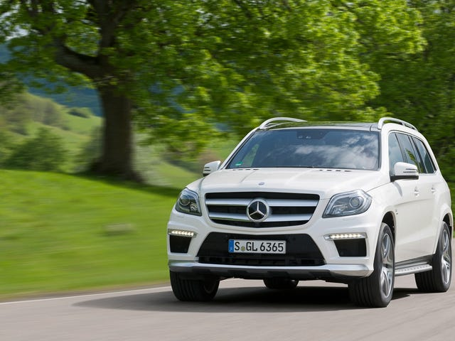 The Mercedes GL63 AMG Is A Ridiculous Car, But I Still Like It