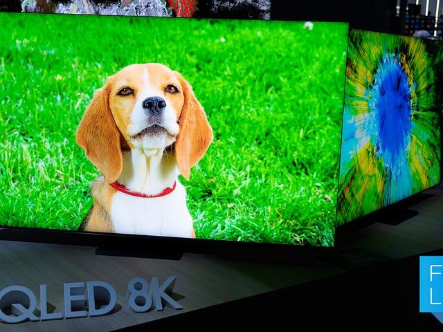 Samsung сохранил свою лучшую новую телевизионную технологию для чертовых телевизоров