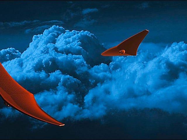 Οι άκρες με σχήμα Stingray θα μπορούσαν να εξερευνήσουν την Ατμόσφαιρα της Αφροδίτης