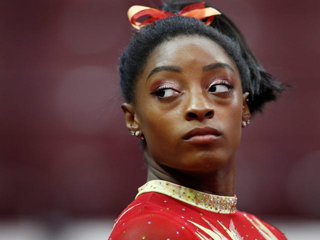 Simone Biles Doesn't Want To Be A Savior