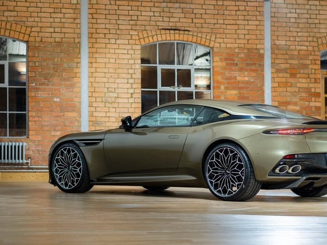This Aston Martin Has Most Excellent Wheels