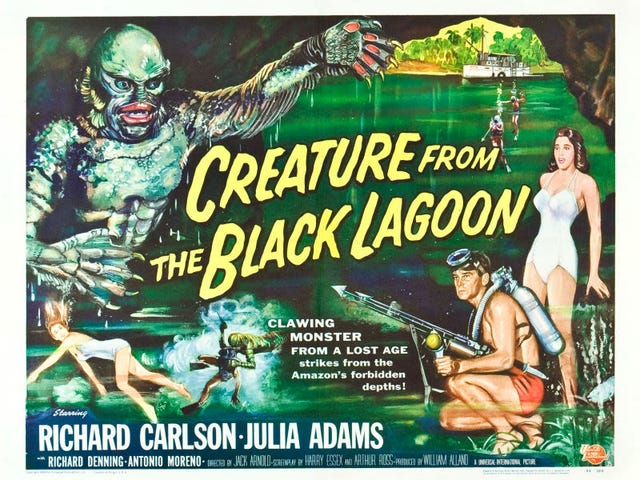 Svengoolie:  Creature from the Black Lagoon (1954)