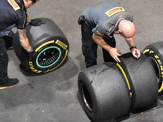 Pirellin massiivisen Formula 1 -rengasoperaation sisällä