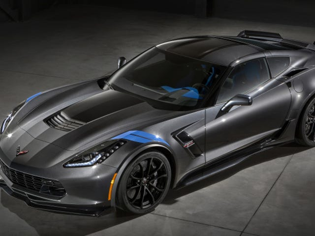 What does the Corvette Grand Sport compete with?