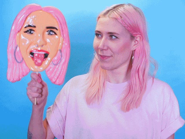 I Can't Wait to Give Everyone a $55 Lickable Lollipop Version of My Face