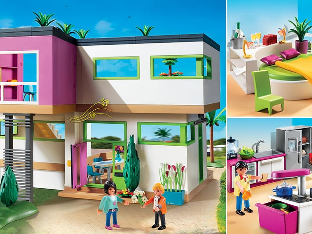 It's OK To Be Jealous Of Playmobil's New Ultra-Modern Luxury Mansion