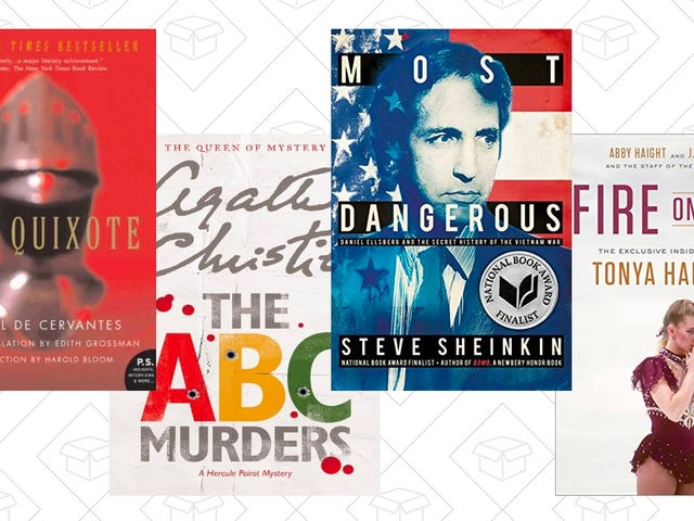 Find a New Page Turner With Today's Kindle Book Sale