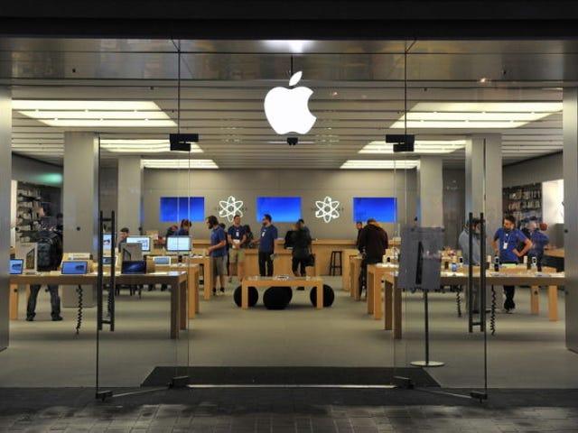 iPhone-verkopen zijn eindelijk gestolen