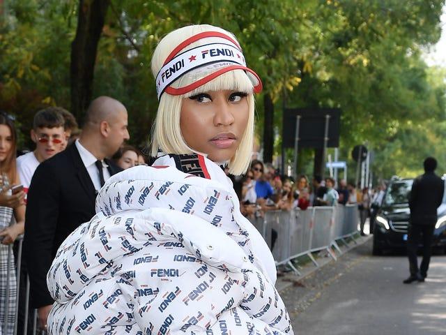 'Barbie Dreams'...of Fendi: Is a Nicki Minaj Luxury Collab in the Works?