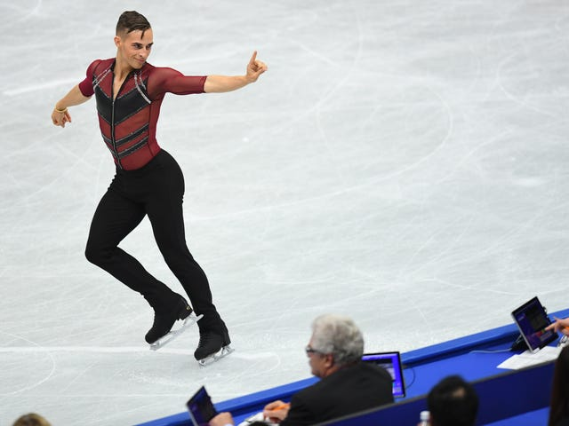Figure Skater Adam Rippon Assures Everyone That His Butt Is Real