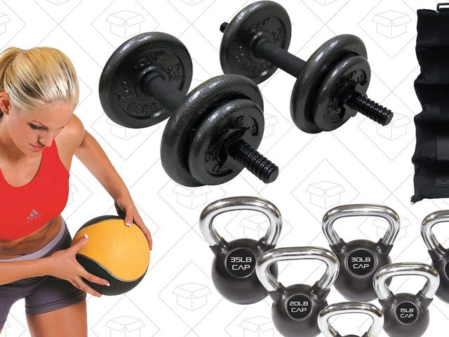 Bulk Up In 2018 With This One Day CAP Barbell Sale