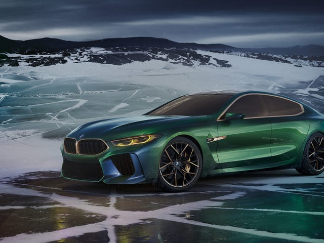 The 'M' In BMW M8 Gran Coupe Now Just Stands For 'More'