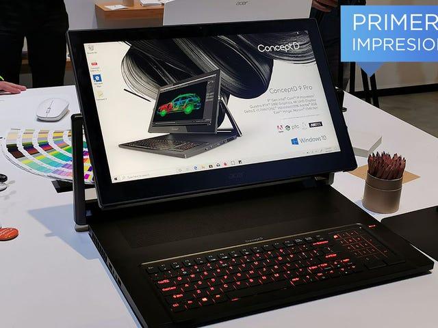 El último laptop profesional de Acer es una completa locura, pero necesitamos más locuras como esta