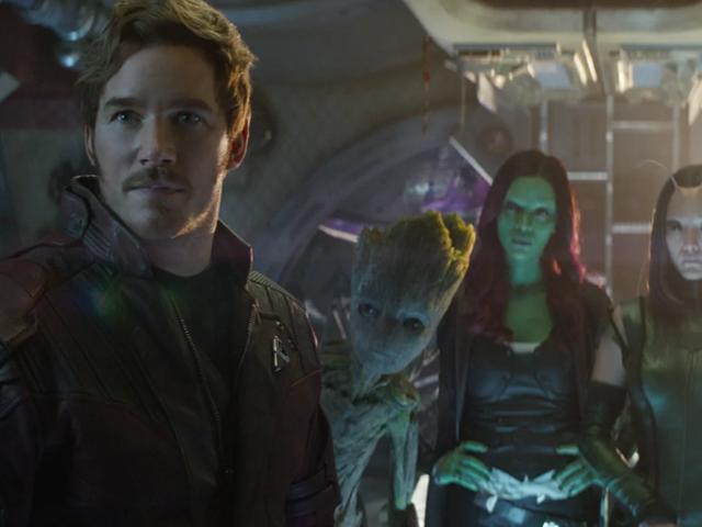 Chris Pratt Sneakily Captured Video of an Iconic Moment on the Set of Avengers: Endgame