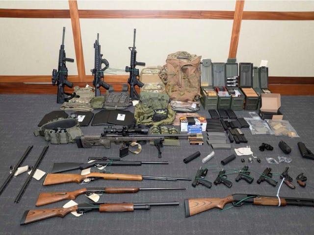White Supremacist Coast Guard Lieutenant Accused of Plotting Terrorist Attack to 'Establish a White Homeland'