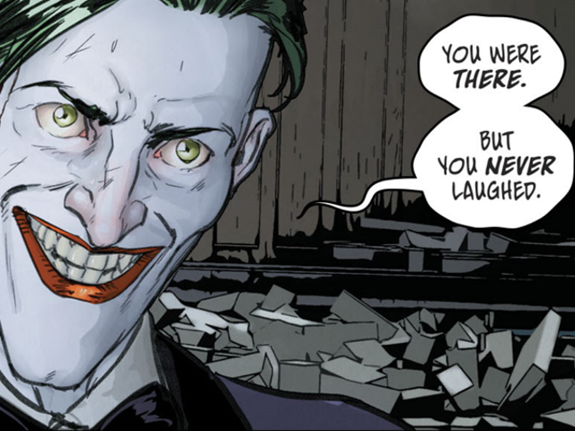 The Joker May Have Given Batman the Greatest Wedding Gift of All