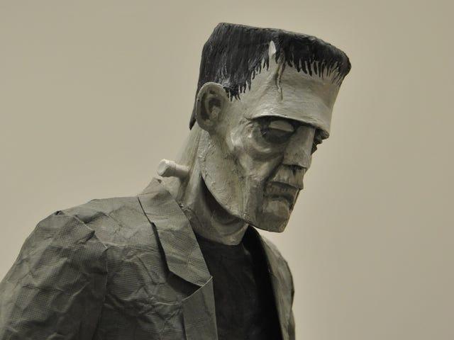 Te papierowe rzeźby są nie z tego świata